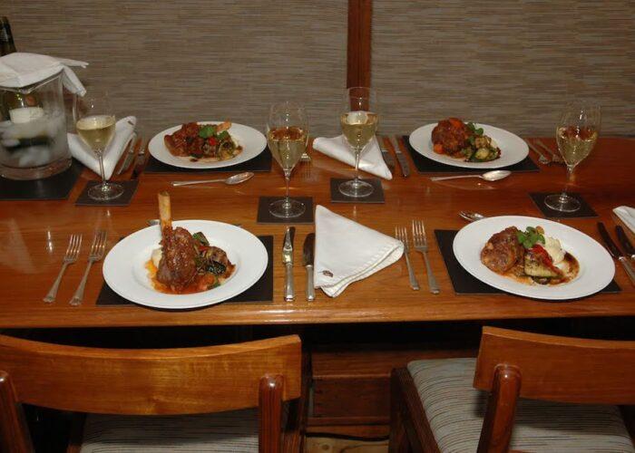 halcyon lamb dinner