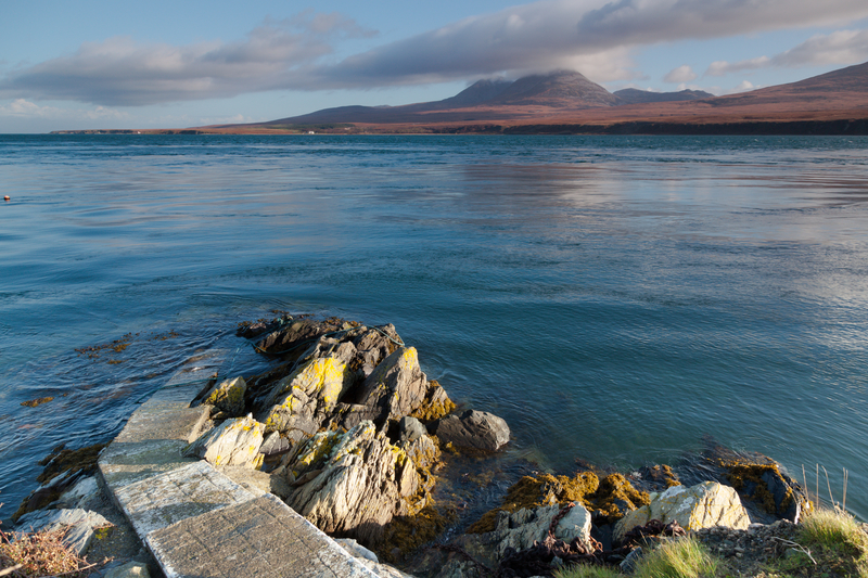 Jura Mountain Scotland Yacht Charter