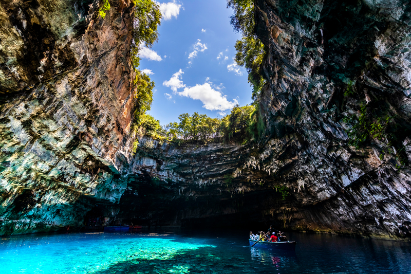 Greek Island Yacht Charter Melissani Cave