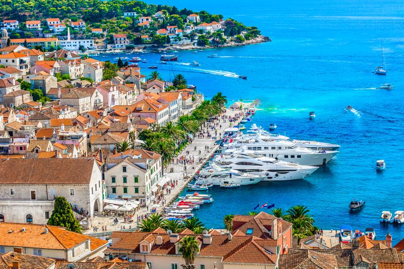 Hvar Town Croatia Yacht Charter