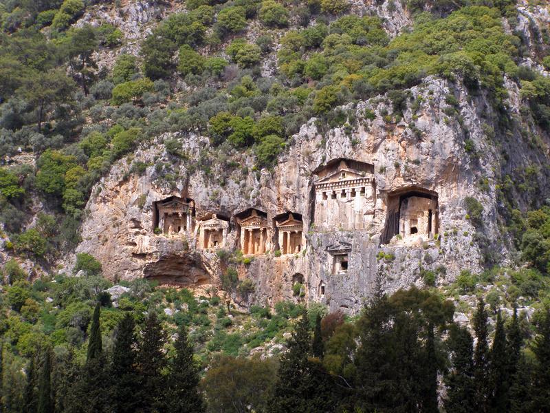 Lycian Tombs Dalyan Yacht Charter