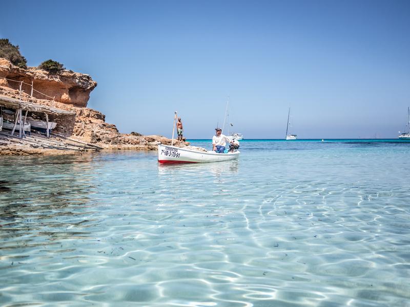 Fishermans Boat Formentera, Spain