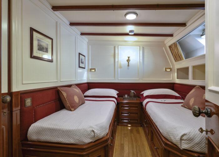 Yacht invader starboard cabin