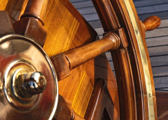 Yacht invader wheel