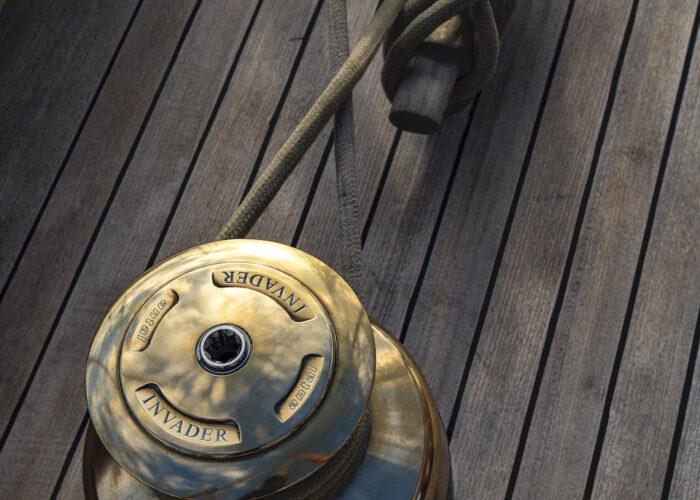 Yacht invader winch
