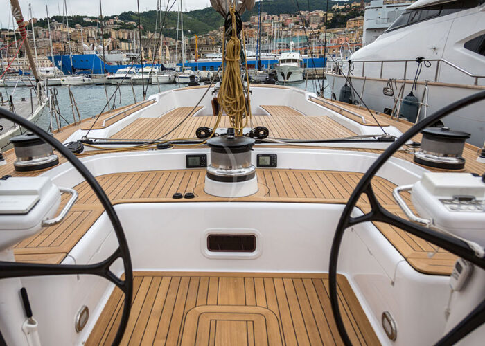 classic sailing yacht elise whisper cockpitjpg