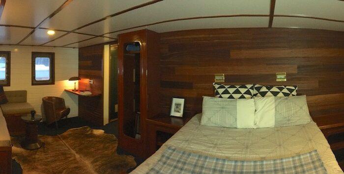Balto master cabin panoramic