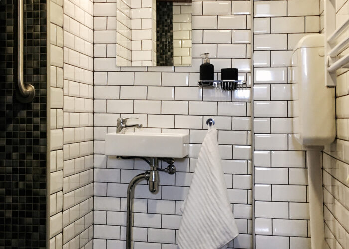 En suite WC and shower