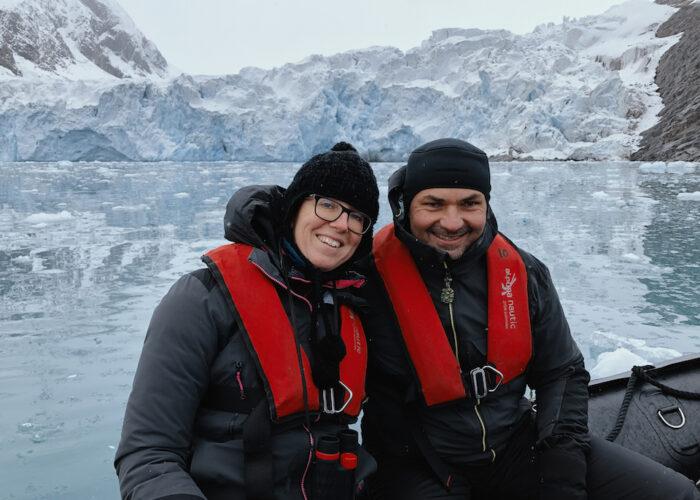 togo glacier couple