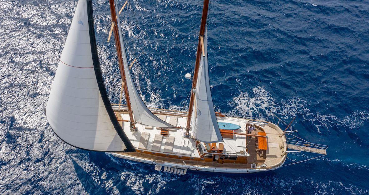 Gulet Kavira sailing Sail Dalmatia Banner