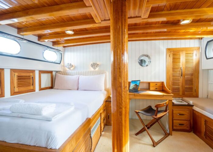 Kavira master cabin with a study 1 view