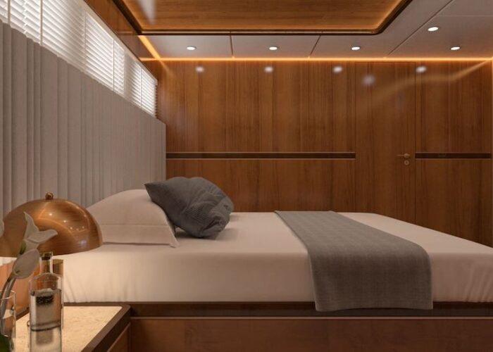 Life is good cabin 5 port side