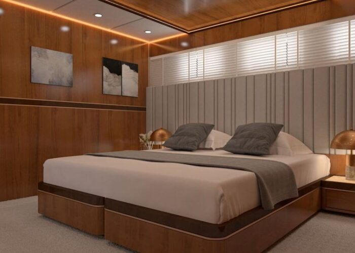 Life is good double cabin with a double berth