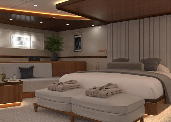 Life is good master cabin