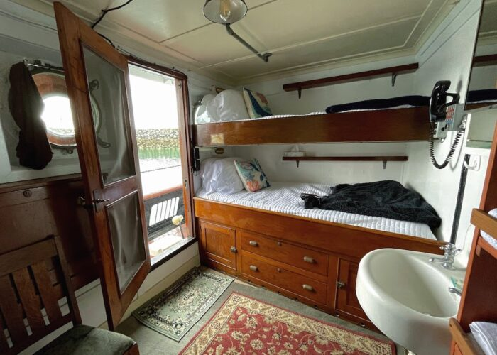 Sacajawea Twin Cabin Deck