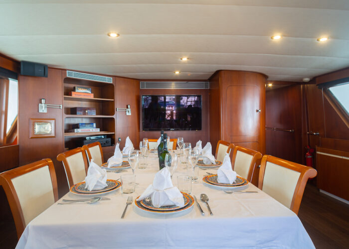 Spirit of MK interior dining setting